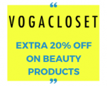 VogaCloset Coupon Code 60% + Extra 20% OFF on Beauty & Makeup Products