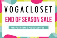 Voga Closet Shoes & Clothing Sale Voucher Code